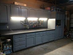 Refurbished Kitchen Cabinets On Pinterest Budget Kitchen Makeovers