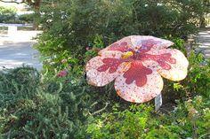 Photo gallery: Mosaic flower sculptures at the State Fair of Texas | Katrina Doran    www.pegasusnews.com | Dallas/Fort Worth