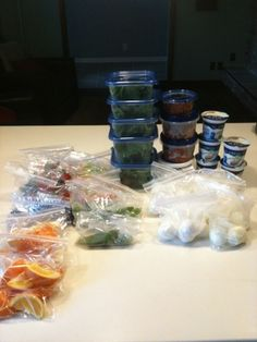 Gonna have to try this - How I do my Sunday Food Prep for the whole week and my typical weekly clean eating grocery list!