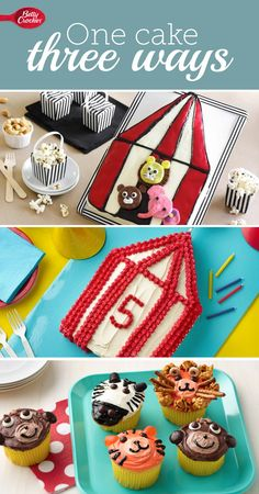 You can make a delightful birthday cake for your kiddo's circus party no matter your skill!