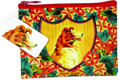 Recycled Bow Wow Coin Purse - 95% recycled post consumer material. #ecofriendly #gogreen