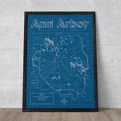 artist map, ann arbor, squar market