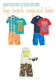 Summer Mini Style Boy Beach-Inspired Looks