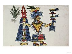 The Goddess Mayahuel (fertility), from the Codex Magliabechiano