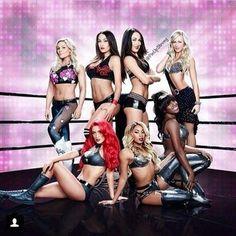 Trinity Ariana Brianna Nicole Natalie Eva Marie & Summer rae Total Divas return March 16 can't wait to watch it
