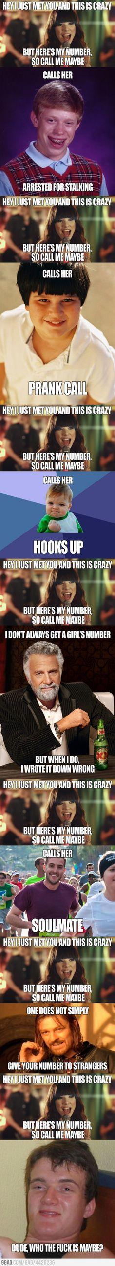 Call me maybe?