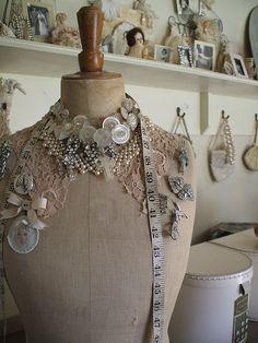 ~Vintage Dress Form.~