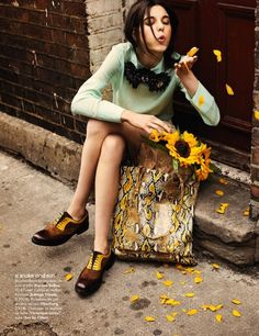 fashion shoes, style, color, girl fashion, sunflowers, bag, mint, yellow, girls shoes
