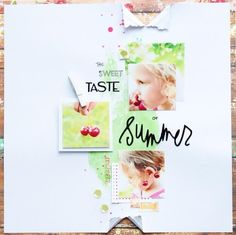 The Sweet Taste Of Summer by SteffiandAnni at @studio_calico