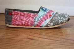 like refurbishing your TOMS!