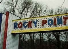 Rocky Point Park, the amusement park in RI.