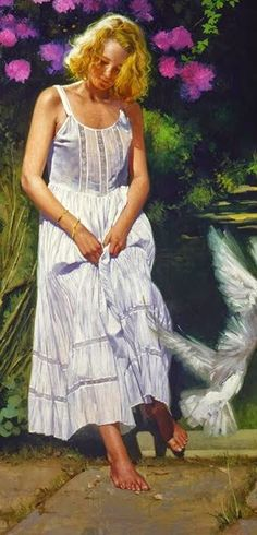 I come to the garden on pinterest john william waterhouse im Deniece williams i come to the garden alone