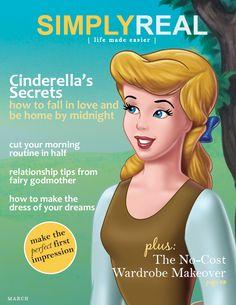 Cinderella magazine cover