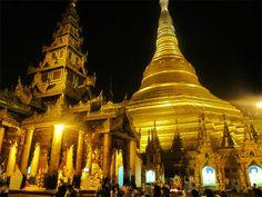 pagodas in yangon | pagoda-yangon