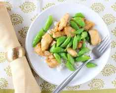 Chicken and Sugar Snap Pea Stir-Fry