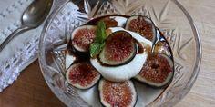 Figs with Ricotta, Honey, and Balsamic #summer #dessert #snack #recipe #seasonal