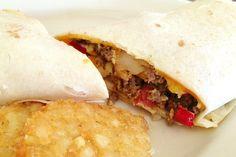 photo of a breakfast burrito from Leggos, Holbrook, MA (from hiddenboston.com)
