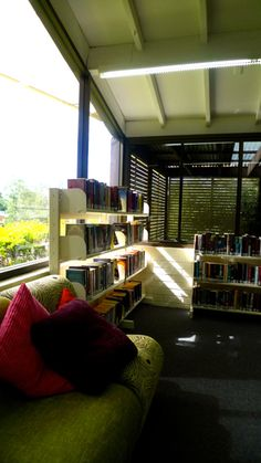 The Young Adults section at Arana Hills Library