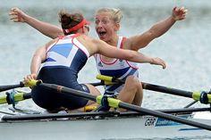 Lightweight women's double sculls gold