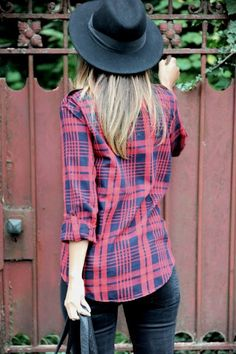 Felt and flannel.