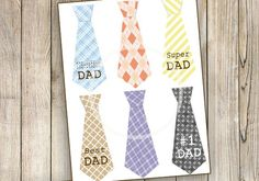 Digital Download Dad Tag Collage Sheet Father's Day by sssstudio