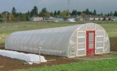 Hoophouse with instructions from WSU