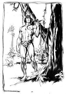 1977 - por John Buscema (arte) e Hedwig Vinson (tinta)