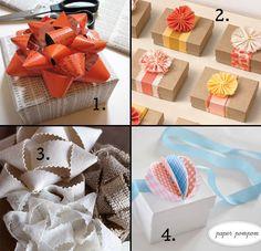 diy gift bows, gift bow tutorial