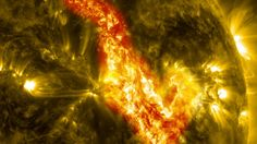 Images of the sun captured on Sept. 29-30, 2013, by NASA's Solar Dynamics Observatory, or SDO, which constantly observes the sun in a variet...