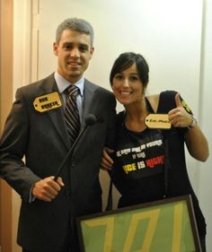 Easy DIY Couples Halloween Costume Idea: The Price Is Right costume