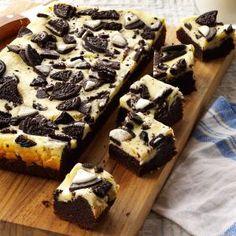 Cookies N Cream Brownies Recipe from Taste of Home -- shared by Darlene Markel of Sublimity, Oregon