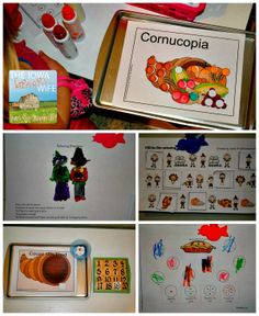 The Iowa Farmer's Wife: Baby Bear Preschool: Thanksgiving Activities - So many great preschool activities!