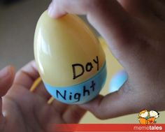 Learning Opposites With Easter eggs