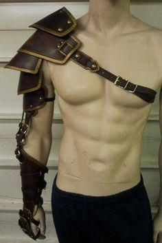 Custom Crafted Full Leather Arm armor