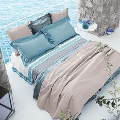 sea coastal home bedding