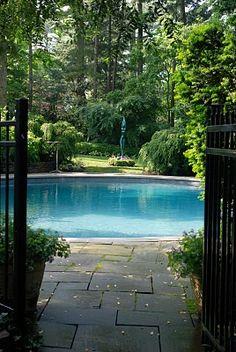 that pool is like a lake!