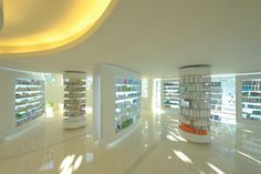 PHARMACIES! Placebo pharmacy by KLab Architecture, Athens store design