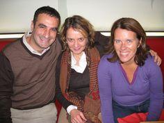Wayne Youkhana, Stephanie Wende of Wende Communication & Carolin Rottlander of FOCUS Magazine