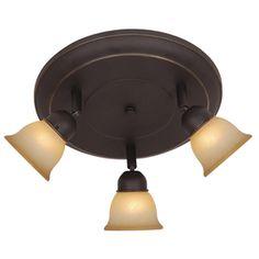 aged bronze ceiling pendulum and track lighting on. Black Bedroom Furniture Sets. Home Design Ideas