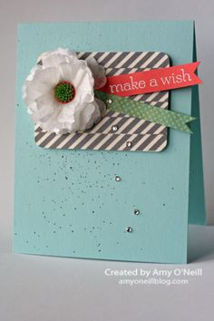 Love the background element created with the This and That designer washi tape.