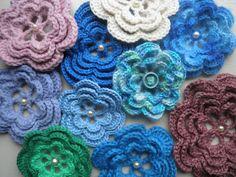 Patroon rozet / bloem haken