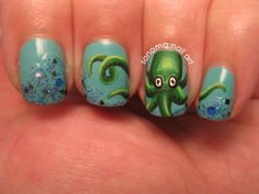 Sonoma Nail Art: 20,000 Leagues Under the Sea