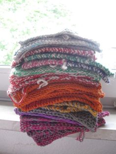 Squares for Knit a Square charity