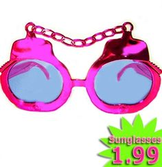 Bachelorette Party Favor Idea: Handcuff Sunglasses $1.99 at The House of Bachelorette