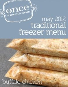 OAMM Freezer Menu for May
