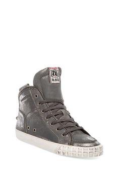 Ash Shake Sneaker in Black Gun