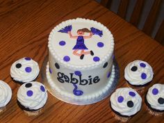 cheerleading cake 2