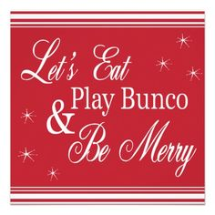 Christmas Bunco pic