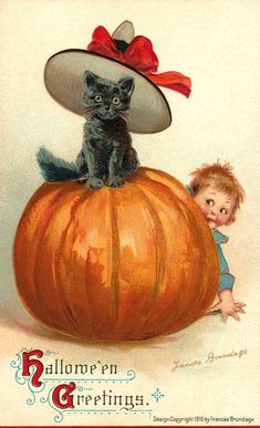 As the Clever Crow Flew: Vintage Halloween Postcards No. 3