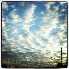 Beautiful sky! Staten Island, New York